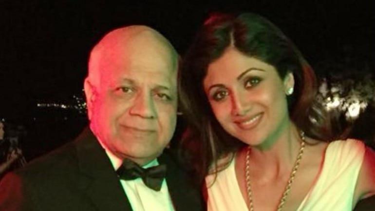 Shilpa Shetty's dad, Surendra Shetty, passed away on October 11, 2016.