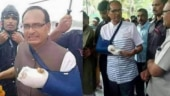 Fact Check: Is Shivraj Singh Chouhan faking his hand fracture?