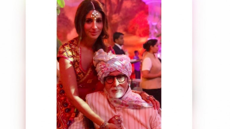 Shweta Bachchan pens a heartfelt post on dad Amitabh Bachchan's 77th birthday.