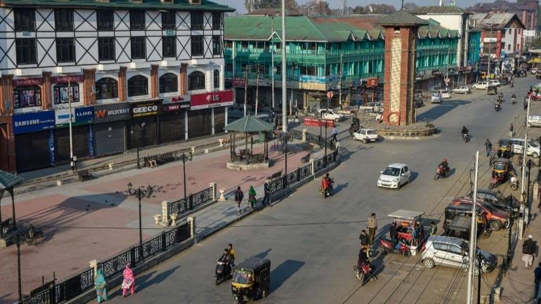 Jammu and Kashmir bifurcation