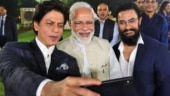 When Shah Rukh Khan hugged Aamir Khan, all thanks to PM Narendra Modi. Watch video