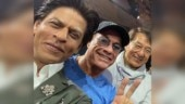 Shah Rukh Khan poses with Jean-Claude Van Damme and Jackie Chan: I got to meet my heroes