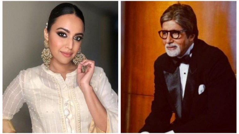 Swara Bhasker reacts to her name being taken by Amitabh Bachchan in KBC