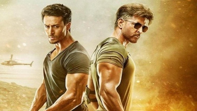 War stars Hrithik Roshan and Tiger Shroff in the lead roles.