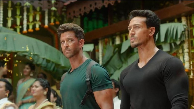 Hrithik Roshan and Tiger Shroff played the lead roles in War.