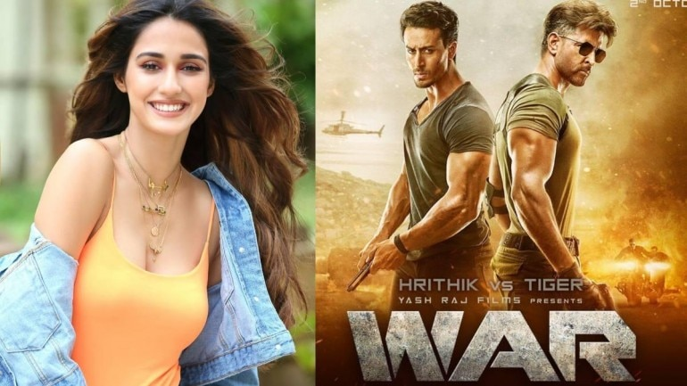 Disha Patani praised Tiger Shroff and Hrithik Roshan for their film War.