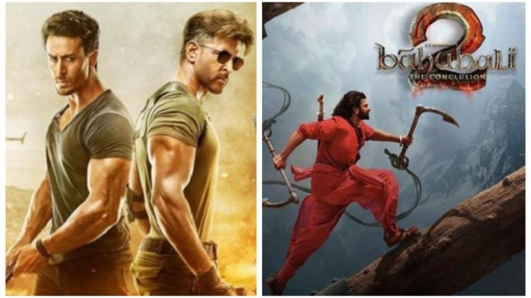 War to Baahubali 2: 10 highest grossing Hindi films of all time