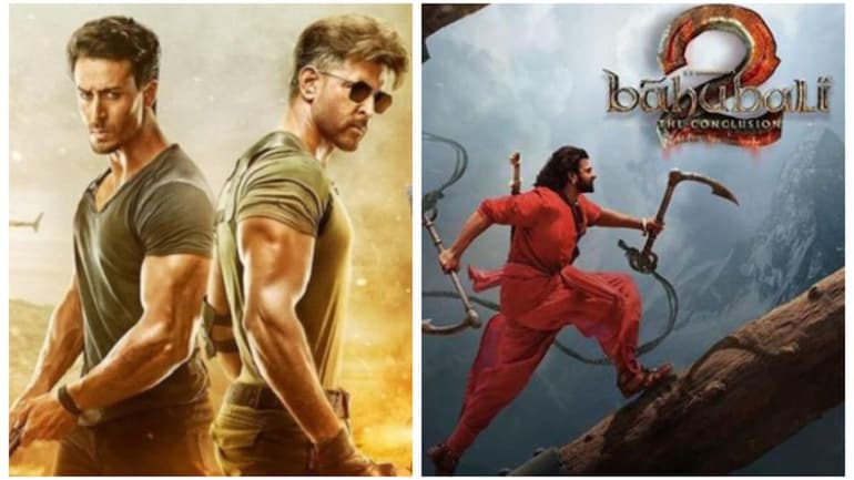 War To Baahubali 2 10 Highest Grossing Hindi Films Of All Time Movies News
