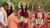 During deepotsav celebrations, Yogi Adityanath pitches for restraint in Ayodhya