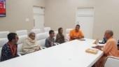 UP CM Yogi Adityanath meets Kamlesh Tiwari's family, assures punishment for killers