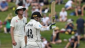 Hamilton Test: Tom Latham ton leads New Zealand charge against England