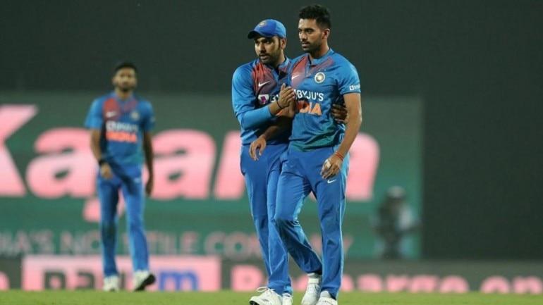 Deepak Chahar's hat-trick helps India win T20I series vs ...