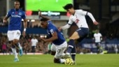 Premier League: Everton's Cenk Tosun earns draw with Spurs in game marred by Andre Gomes leg injury
