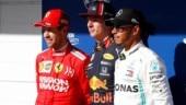 Brazilian GP: Max Verstappen pips Sebastian Vettel to grab pole position