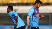 Bangladesh pacers practicing with wet balls ahead of day-night Test vs India