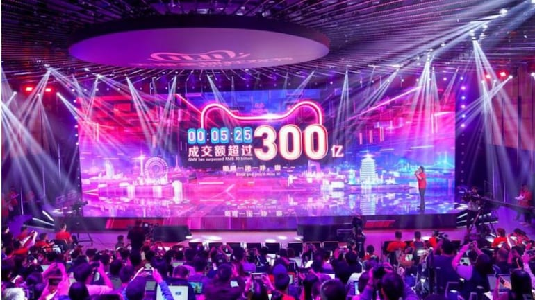 Alibaba S Singles Day Sales Hit 31 82 Billion Breach Last Year S Record Business News Monday marks alibaba's first singles day since its founder, jack ma, stepped down as chairman in september. alibaba s singles day sales hit 31 82