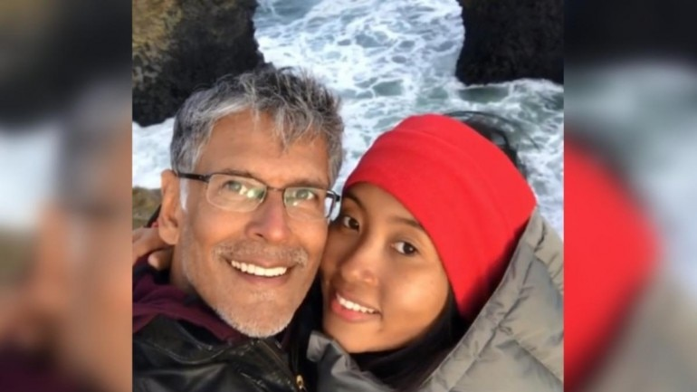 Ankita Konwar shared an Instagram post with husband Milind Soman with a beautiful caption. (Photo: Instagram)