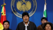 Bolivia's Morales resigns after protests over disputed October vote