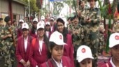 Paramilitary forces organise National Integration tours for students living in remote areas