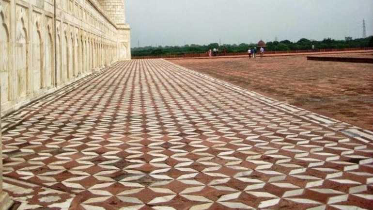 Image result for Chameli floor at taj mahal