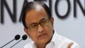 P Chidambaram lashes out at Centre over economic data suppression