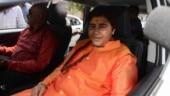 Was talking about revolutionary Udham Singh: Sadhvi Pragya after Nathuram Godse deshbhakt remark