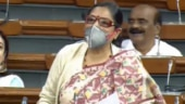 TMC member speaks on pollution wearing mask in Lok Sabha