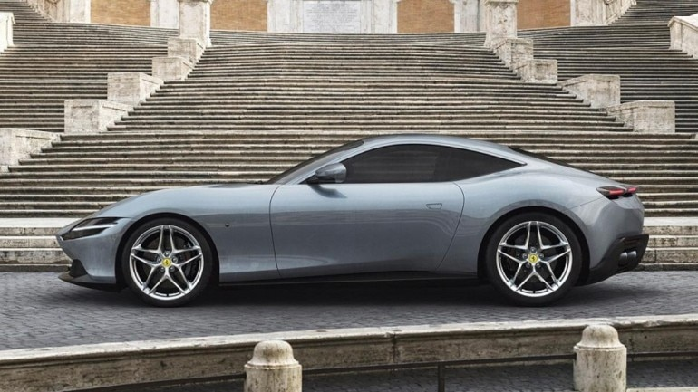 Ferrari Roma coupe unveiled , Auto News