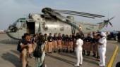 Mumbai school children visit INS Shikra as a part of Navy Week-2019