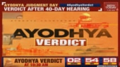 Ayodhya verdict live telecast: How to watch SC's historic judgement on India Today
