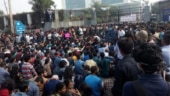 JNU protest: Students enter admin building, demand meeting with vice-chancellor