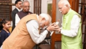 PM Modi meets LK Advani on his 92nd birthday, lauds him for empowering Indians