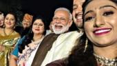PM Modi clicks uber-cool selfie at Mohena Kumari Singh and Suyesh Rawat's wedding reception