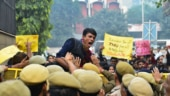 Delhi Police denies using force against protesting JNU students