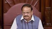 Rajya Sabha adjourned till noon as opposition members protest