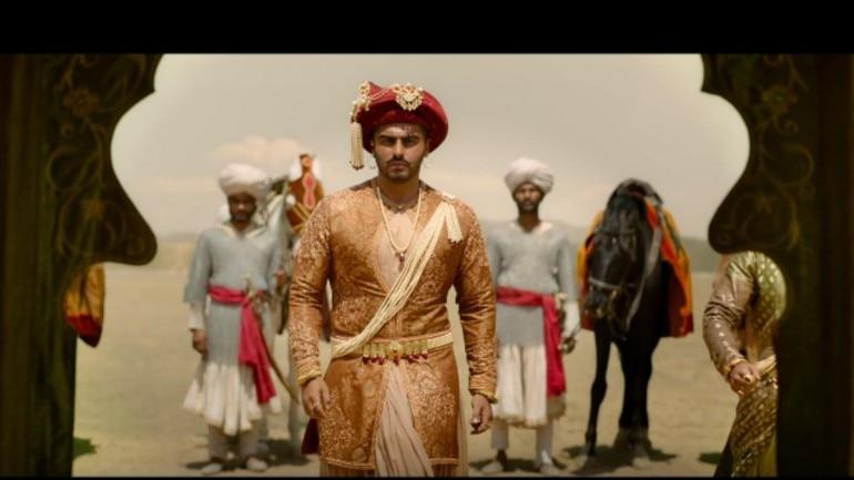 Arjun Kapoor in a still from Panipat trailer. (Photo: YouTube)