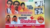 Ahead of Uddhav swearing-in, poster featuring Bal Thackeray, Indira Gandhi put up near Shiv Sena Bhawan