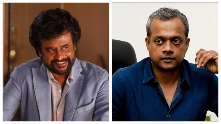 Rajinikanth and Gautham Menon