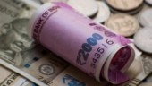 Rupee pares initial losses, settles 8 paise higher at 71.66 a dollar