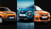 Maruti Suzuki S-Presso vs Renault Kwid facelift vs Maruti Suzuki Alto K10: Prices compared