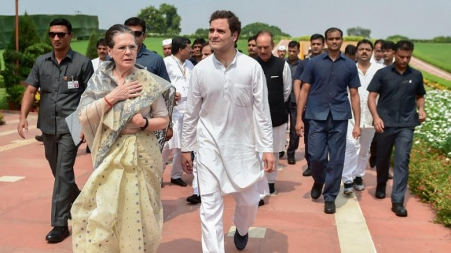 Restore security cover, Congress asks govt after ruckus in Rajya Sabha over Gandhis losing SPG protection