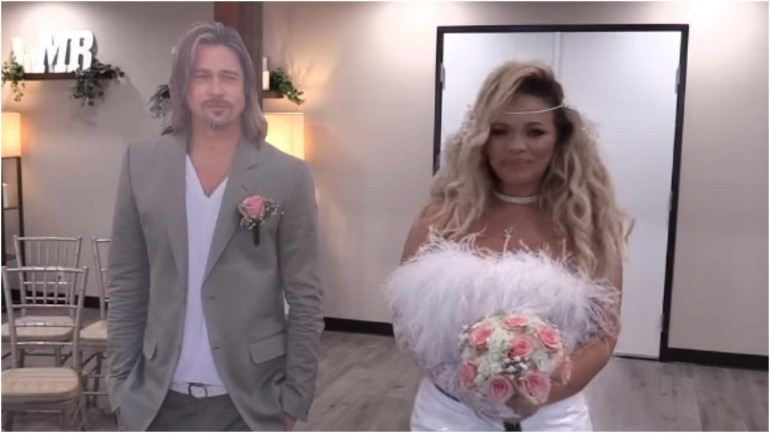Still from Trisha Paytas' wedding video that she uploaded on her YouTube channel. (Photo: YouTube)
