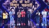 Mithun Chakraborty gets teary-eyed on Dance Plus 5