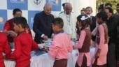 President Kovind visits Akshaya Patra Kitchen in Vrindavan