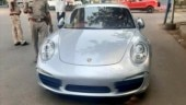 Ahmedabad: Porche owner rides car without number plate, documents, fined Rs 9.8 lakh
