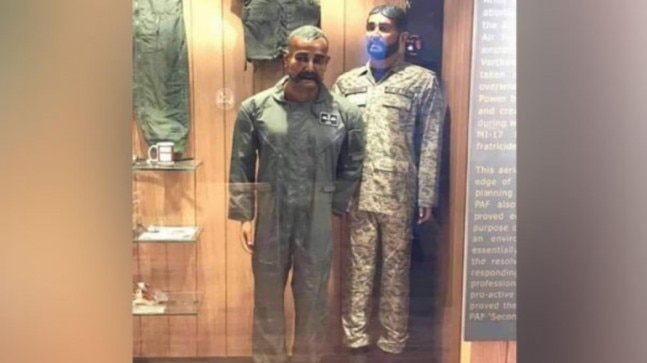Pakistan stoops to new low with Abhinandan's mannequin display at PAF museum
