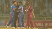 Karim Janat inspires Afghanistan to level series against West Indies in 2nd T20I