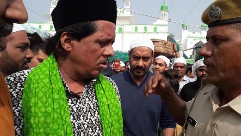 Ajay Devgn at Ajmer Sharif dargah. (Photo: Yogen Shah)