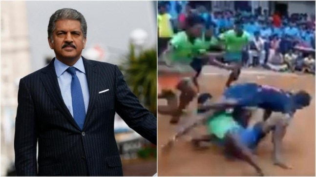 Anand Mahindra shares video of boys playing Kabaddi with best advice. It's worth watching