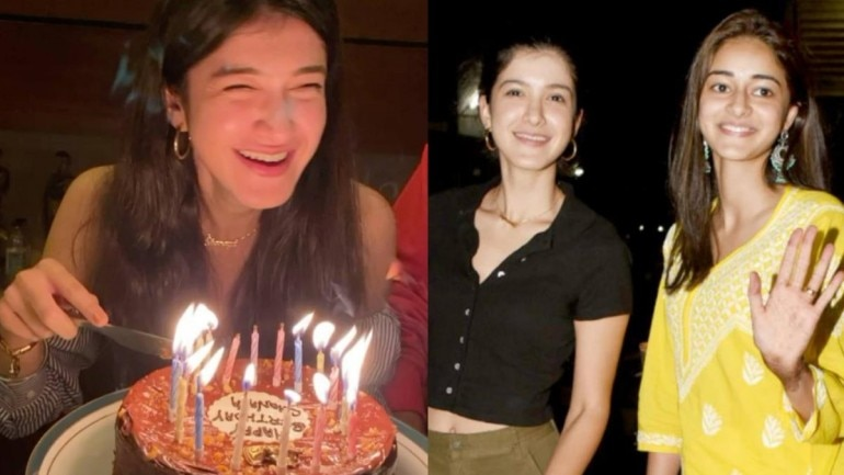 Ananya Panday shared an adorable picture of Shanaya Kapoor on her birthday.